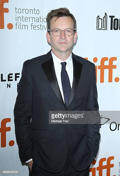 Philip Martin arrives at the premiere of The Forger held during the 2014 Toronto International Film Festival Day 9 on September 12 2014 in Toronto...