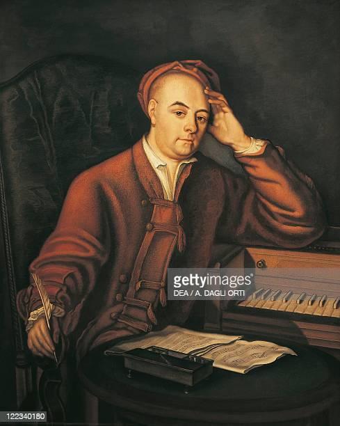Philip Mercier , Portrait of Georg Friedrich Handel , German composer.
