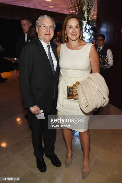 Philip Milstein and Cheryl Milstein attend the Winter Gala at Lincoln Center at Alice Tully Hall on February 13 2018 in New York City