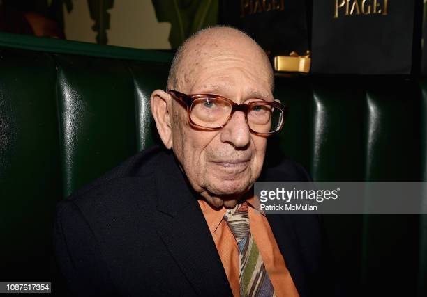 Philip Pearlstein attends The Andy Warhol Museum's Annual NYC Dinner at Indochine on November 12 2018 in New York City
