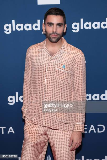 Philip Picardi attends the 29th Annual GLAAD Media Awards at The Hilton Midtown on May 5 2018 in New York City