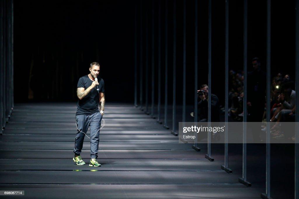Philip Plein at the Billionaire show during Milan Men's Fashion Week Spring/Summer 2018 on June 19, 2017 in Milan, Italy.