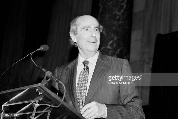 Philip Roth attends PARIS REVIEW BOARD OF DIRECTORS REVEL 2010 at Cipriani on April 13 2010 in New York City