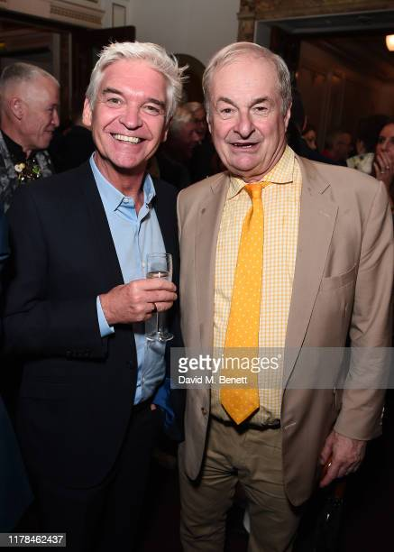 """Philip Schofield and Paul Gambaccini attend the English National Opera's opening night of the season featuring a performance of """"Orpheus and..."""