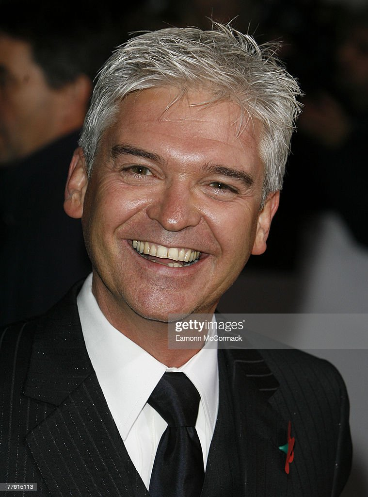 Philip Schofield arrives for the National Television Awards at the Royal Albert Hall on 31 October 2007 in London England.