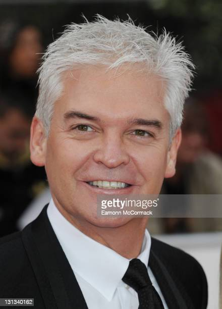 Philip Schofield arrives on the red carpet for The Philips British Academy Television Awards at Grosvenor House on May 22 2011 in London England