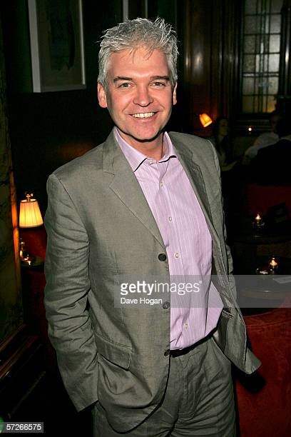 Philip Schofield attends the after show party following the World Premiere of 'Alien Autopsy' at the Astor Grill on April 3 2006 in London England