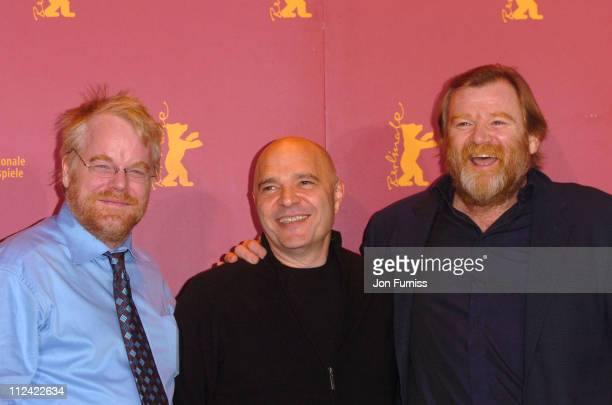Philip Seymour Hoffman Anthony Minghella and Brendan Gleeson