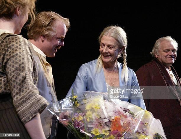 Philip Seymour Hoffman, Vanessa Redgrave and Brian Dennehy
