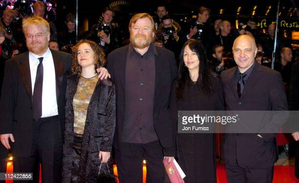 Philip Seymour Hoffman wife Mimi O`Donnell Brendan Gleeson Anthony Minghella and wife