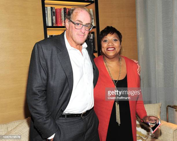 Philip Sprayregen and Ameil Sloley attend SSY Shopping Benefit For Children's Rights on September 12 2018 in New York City