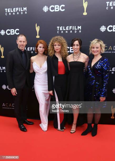 Philip Sternberg Dani Kind Juno Rinaldi Catherine Reitman and Sarah McVie attends the 2019 Canadian Screen Awards Broadcast Gala at Sony Centre for...