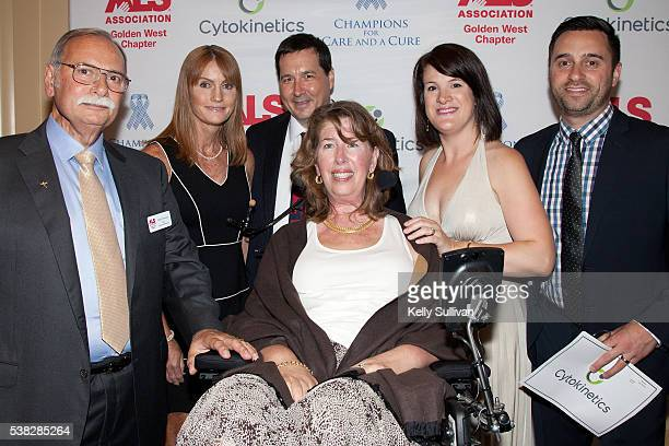 Philip Thomas Board Chair of The ALS Association Golden West Chapter and his wife Kay Thomas who has been living with ALS since 2001 pose for a photo...