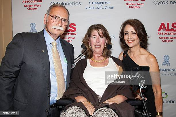Philip Thomas Board Chair of The ALS Association Golden West Chapter his wife Kay Thomas who has been living with ALS since 2001 and event master of...