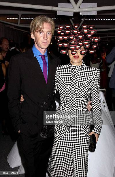 Philip Treacy And Isabella Blow The Lycra British Style Awards 2003 Held At Old Billingsgate Market In London