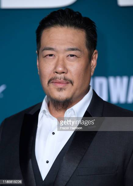 Philip Wang attends the Premiere Of Lionsgate's Midway at Regency Village Theatre on November 05 2019 in Westwood California
