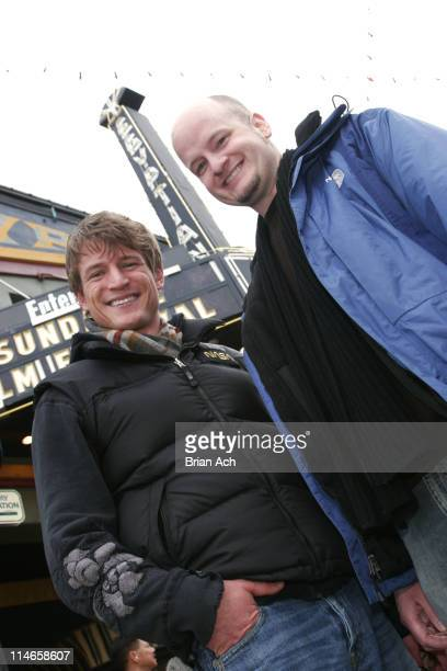 Philip Winchester actor and Allen Wolf writer/director/producer