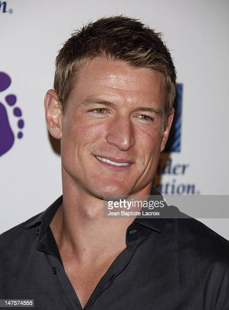 Philip Winchester arrives at The Surfrider Foundation's 25th Anniversary Gala at the California Science Center's Wallis Annenberg Building on October...