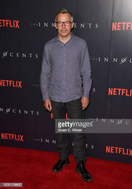 Percelle Ascott and guest attend a special screening of the Netflix show 'The Innocents' at the Curzon Mayfair on August 20 2018 in London England