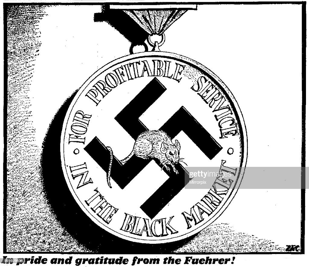 philip zec in pride and gratitude from the fuehrer 7th march 1942