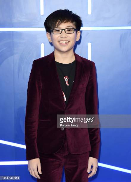 Philip Zhao attends the European Premiere of 'Ready Player One' at Vue West End on March 19 2018 in London England
