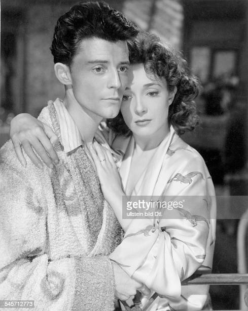 Philipe Gérard *Actor Francewith Michelle Presle in the movie Le diable au corps 1946
