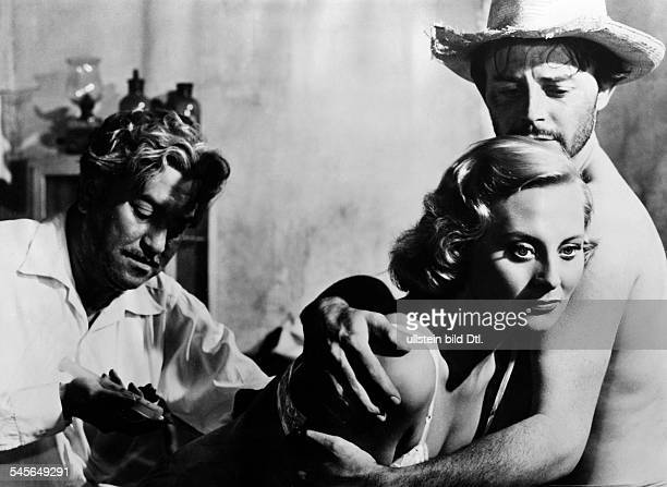 Philipe GÚrard Actor France * Scene from the movie 'Les Orgueilleux'' with Michele Morgan Directed by Yves Allegret Rafael E Portas France / Mexico...