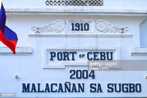 Philipins, Cebu City. Cebu Island. Port of Cebu.