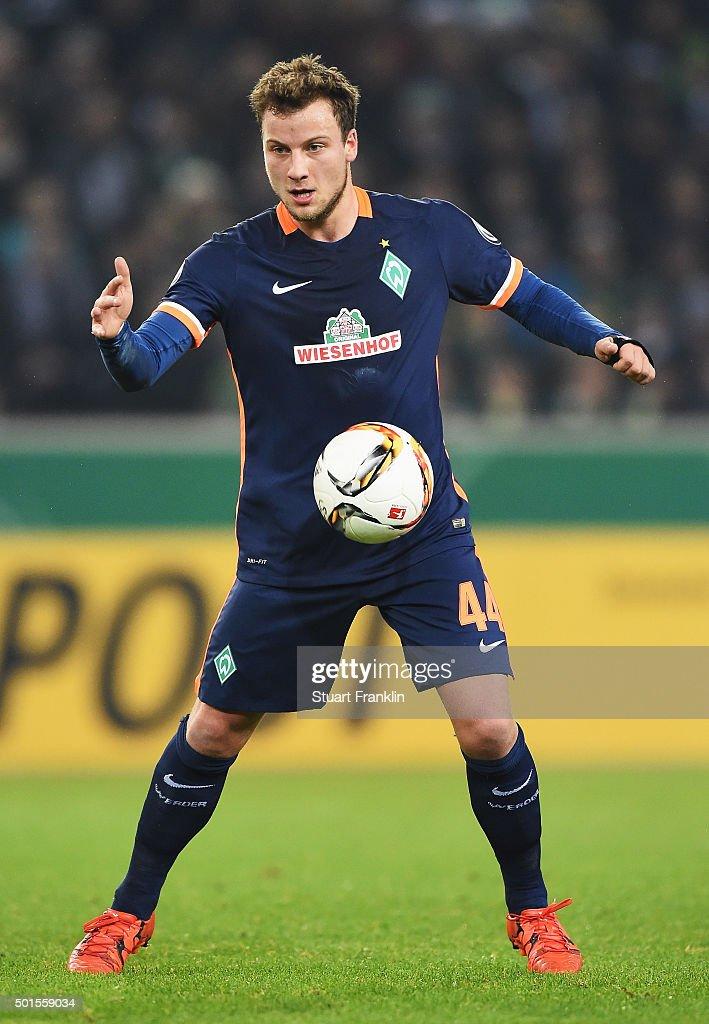 Borussia Moenchengladbach v Werder Bremen - DFB Cup