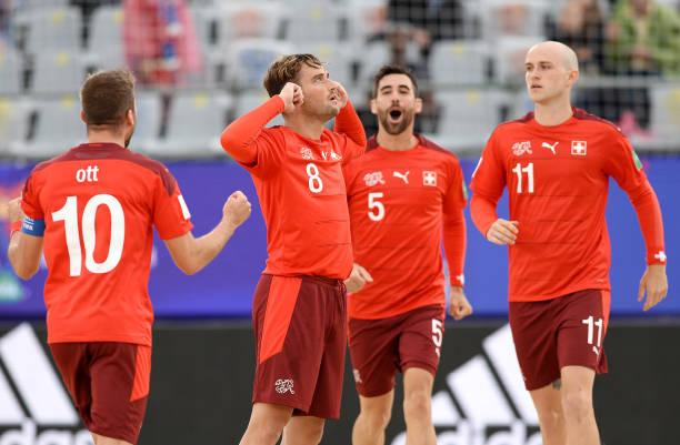 RUS: Switzerland v Uruguay - FIFA Beach Soccer World Cup 2021: Quarter-final