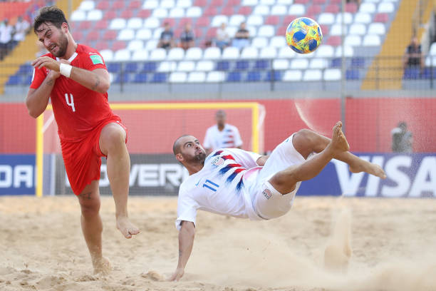 PRY: Switzerland v USA - FIFA Beach Soccer World Cup Paraguay 2019