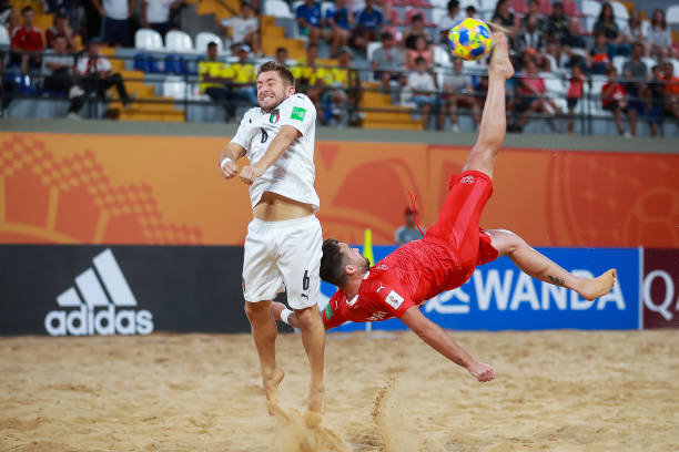 PRY: Italy v Switzerland - FIFA Beach Soccer World Cup Paraguay 2019