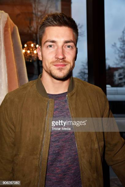 Philipp Boy during the Marcel Ostertag Fashion Presentation on January 17 2018 in Berlin Germany