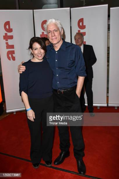 Philipp Brenninkmeyer and his wife Tara Lynn Orr during the ARTE reception as part of the 70th Berlinale International Film Festival Berlin at...