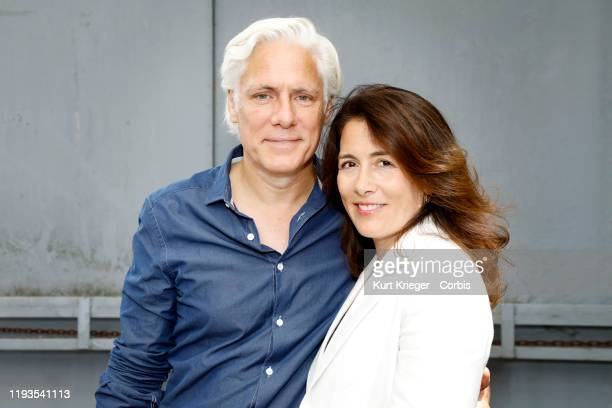 Philipp Brenninkmeyer and his wife Tara Lynn Orr photographed at the FFF reception during the Munich Film Festival 2018 at Praterinsel on July 5 2018...