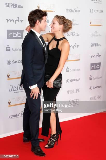 Philipp Danne and Viktoria Schuessler attend the Goldene Henne on September 28 2018 in Leipzig Germany