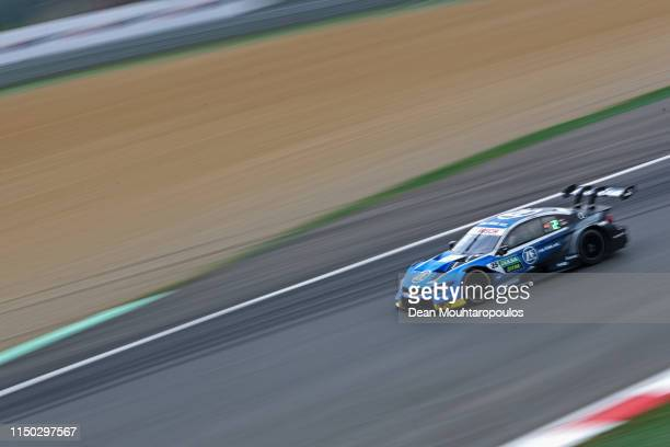 Philipp Eng of Austria for BMW Team RMR in the M4 Turbo DTM competes during the DTM or Deutsche Tourenwagen Masters Zolder Race 2 at Circuit Terlamen...