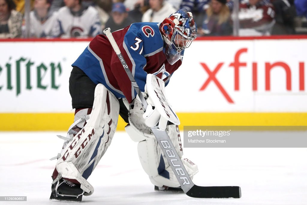 Toronto Maple Leafs v Colorado Avalanche : News Photo