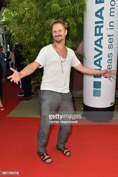 Philipp Hochmair during the Bavaria Film reception during the Munich Film Festival 2018 at Kuenstlerhaus am Lenbachplatz on July 3, 2017 in Munich,...