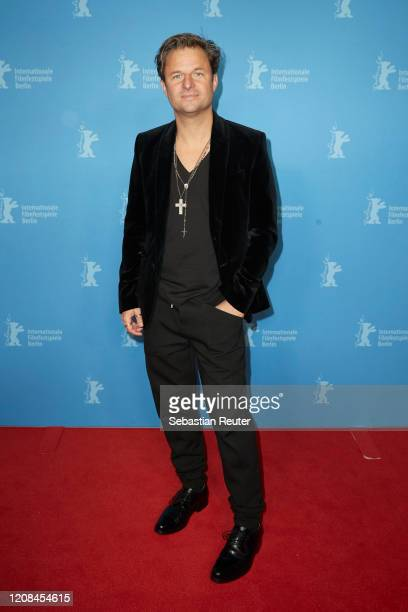 "Philipp Hochmair pose at the Netflix premiere of ""Freud"" during the 70th Berlinale International Film Festival Berlin at Zoo Palast on February 24,..."