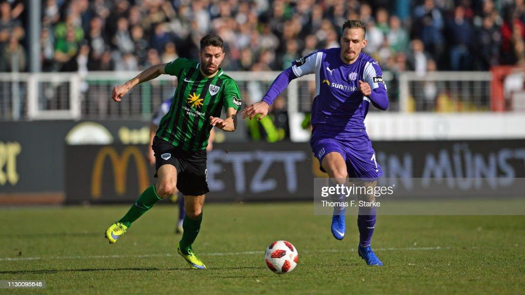 DEU: SC Preußen Münster v VfL Osnabrück - 3. Liga
