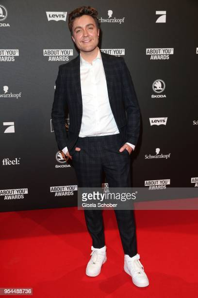 Philipp Isterewicz during the 2nd ABOUT YOU Awards 2018 at Bavaria Studios on May 3 2018 in Munich Germany