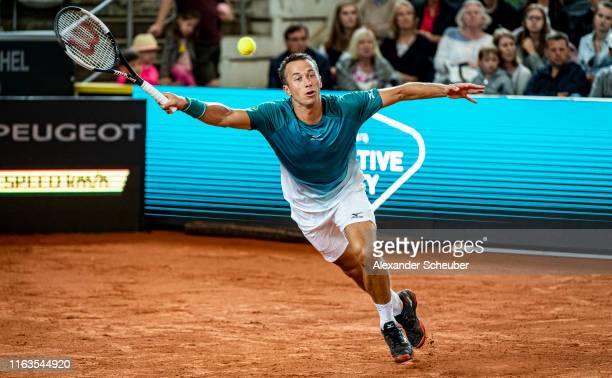 Philipp Kohlschreiber of Germany in action during the Hamburg Open 2019 at Rothenbaum on July 22 2019 in Hamburg Germany