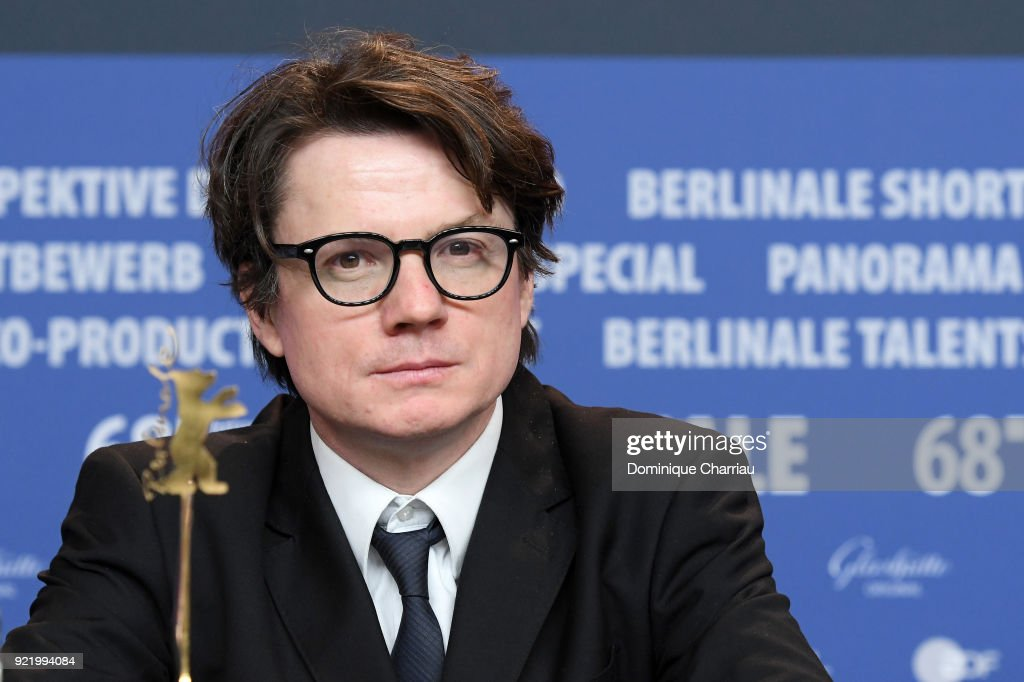 Philipp Kreuzer attends the 'My Brother's Name is Robert and He is an Idiot' (Mein Bruder heisst Robert und ist ein Idiot) press conference during the 68th Berlinale International Film Festival Berlin at Grand Hyatt Hotel on February 21, 2018 in Berlin, Germany.