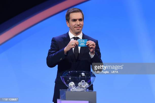 Philipp Lahm attends the UEFA Euro 2020 Final Draw Ceremony on November 30 2019 in Bucharest Romania
