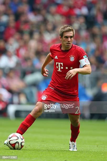 Philipp LAHM FC Bayern München deutscher Fussball Meister 2015 FC Bayern München Meisterschaft FC Bayern München - Mainz 05 1 Fussball Bundesliga...