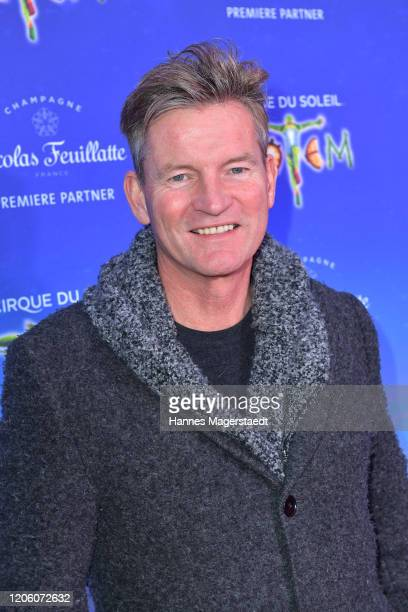Philipp Moog attends the premiere of Totem by Cirque du Soleil at Theresienwiese on February 13 2020 in Munich Germany