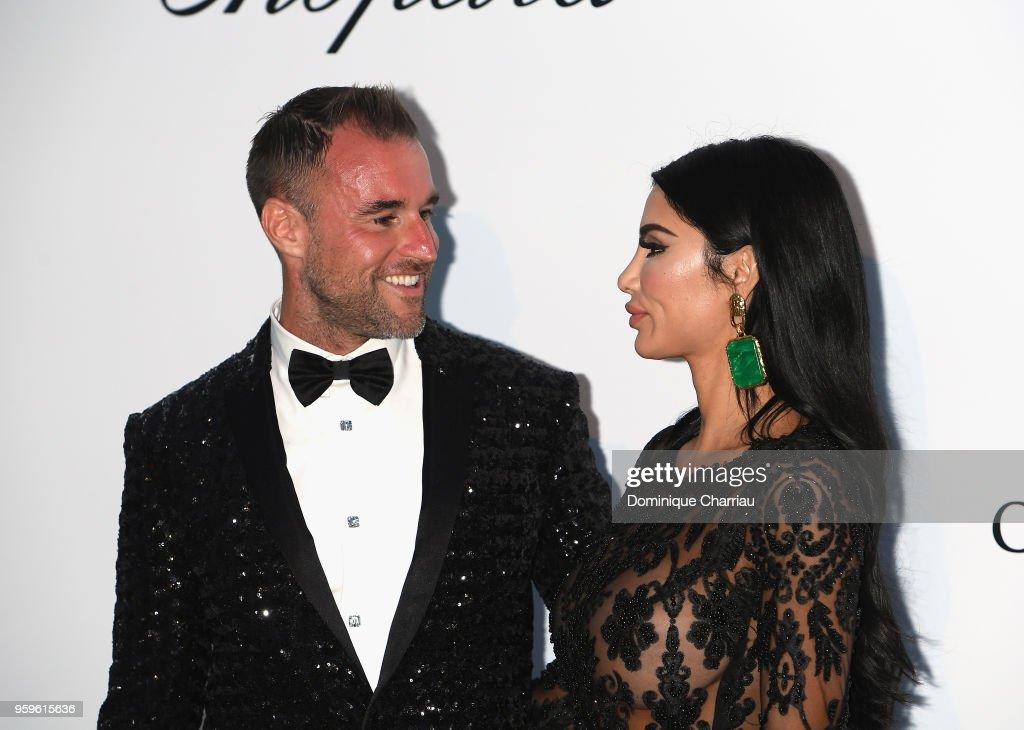 Philipp Plein And Morgan Osman Arrive At The Amfar Gala Cannes 2018 News Photo Getty Images