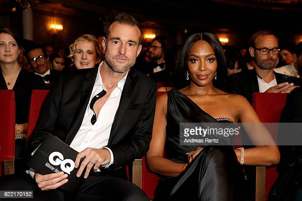 Philipp Plein and Naomi Campbell are seen at the GQ Men of the year Award 2016 show at Komische Oper on November 10 2016 in Berlin Germany