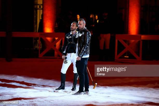 Philipp Plein at the Billionaire show during Milan Menswear Fashion Week Autumn/Winter 2019/20 on January 12 2019 in Milan Italy